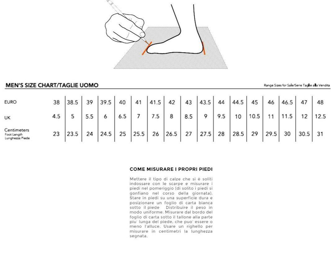 taglia scarpe upower blanco prodottiferrmenta